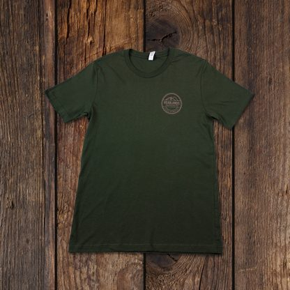 military-green front